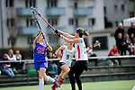 FRANKFURT AM MAIN, GERMANY - April 14: Julia Duerr #11 of Germany during the Deutschland Lacrosse International Tournament match between Germany vs Great Britain during the on April 14, 2013 in Frankfurt am Main, Germany. Great Britain won, 10-9. (Photo by Dirk Markgraf)