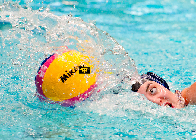 Varsity XV Women's Water Polo - University of Sheffield (blue cap) v Hallam University (white cap)