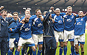 12/04/2008    Copyright Pic: James Stewart.File Name : sct_jspa28_qots_v_aberdeen.QUEEN OF THE SOUTH PLAYERS CELEBRATE AT THE END OF THE GAME...James Stewart Photo Agency 19 Carronlea Drive, Falkirk. FK2 8DN      Vat Reg No. 607 6932 25.Studio      : +44 (0)1324 611191 .Mobile      : +44 (0)7721 416997.E-mail  :  jim@jspa.co.uk.If you require further information then contact Jim Stewart on any of the numbers above........