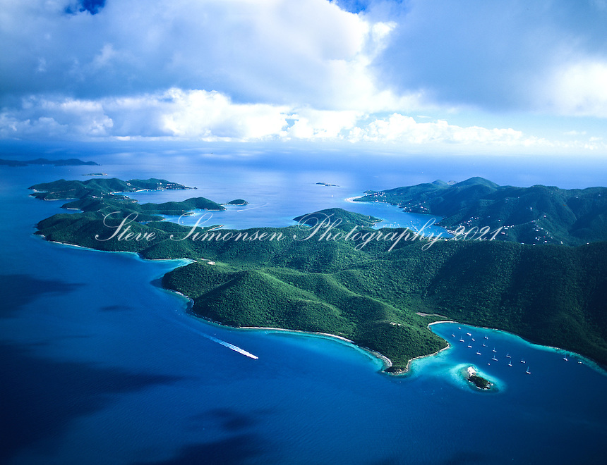 Leinster Bay to East End Aerial<br />
