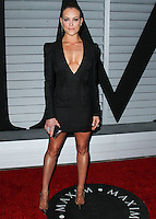 WEST HOLLYWOOD, CA, USA - JUNE 10: Peta Murgatroyd at the MAXIM Hot 100 Party held at the Pacific Design Center on June 10, 2014 in West Hollywood, California, United States. (Photo by Xavier Collin/Celebrity Monitor)