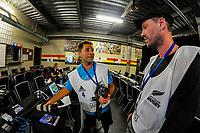 Photographers Joe Johnson and Simon Watts.Day two of the 2018 HSBC World Sevens Series Hamilton at FMG Stadium in Hamilton, New Zealand on Saturday, 3 February 2018. Photo: Dave Lintott / lintottphoto.co.nz