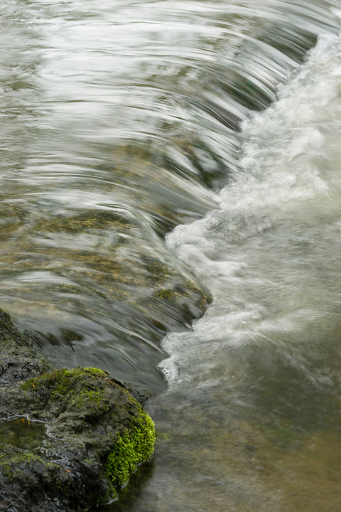 A fishway to enable fish like salmon  to swim upstream