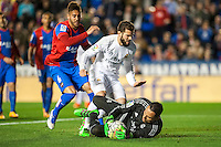 VALENCIA, SPAIN - MARCH 2: Navas during BBVA League match between VLevante U.D. and R. Madrid at Ciudad de Valencia Stadium on March 2, 2015 in Valencia, Spain