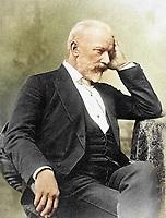 Русский композитор Петр Ильич Чайковский, 1892 год / Russian composer Pyotr Ilyich Tchaikovsky, 1892