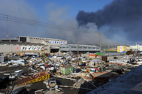 Devastation caused by the Japanese earthquake in Sendai, Japan...photo by Richard Jones/ sinopix