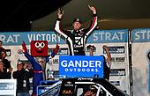 #51: Kyle Busch, Kyle Busch Motorsports, Toyota Tundra Cessna celebrates his win