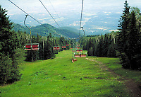 Sandia Peak Chairlift, Sandia Mountains, central New Mexico, alpine slopes, landscape. New Mexico, Sandia Peak Chairlift.