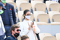 5th June 2021; Roland Garros, Paris France; French Open tennis championships day 7; Xisca Nadal - wife of Rafael Nadal