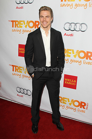 LOS ANGELES, CA - DECEMBER 02: Derek Hough at 'Trevor Live' honoring Katy Perry and Audi of America for The Trevor Project held at The Hollywood Palladium on December 2, 2012 in Los Angeles, California. Credit: mpi21/MediaPunch Inc.