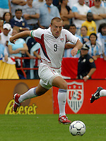 Clint Mathis, Argentina vs. USA, Miami, Fla.