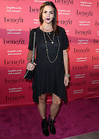 HOLLYWOOD, LOS ANGELES, CA, USA - SEPTEMBER 26: Katie Maloney arrives at the Benefit Cosmetics: Wing Woman Weekend Kick-Off Party held at the Benefit Tattoo Parlor on September 26, 2014 in Hollywood, Los Angeles, California, United States. (Photo by Xavier Collin/Celebrity Monitor)