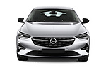 Car photography straight front view of a 2021 Opel Insignia Ultimate 4 Door Sedan Front View