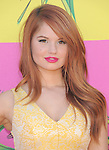 Debby Ryan at The Nickelodeon's Kids' Choice Awards 2013 held at The Galen Center in Los Angeles, California on March 23,2013                                                                   Copyright 2013 Hollywood Press Agency