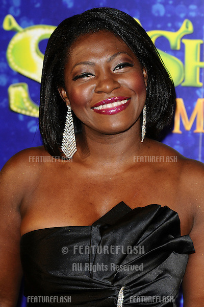 """Tandi arrives for the 1st night party of """"Shrek The Musical"""" at Somerset House, London. 14/06/2011  Picture by: Steve Vas / Featureflash"""