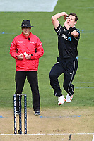 20th March 2021; Dunedin, New Zealand;  Matt Henry during the New Zealand Black Caps v Bangladesh International one day cricket match. University Oval, Dunedin.