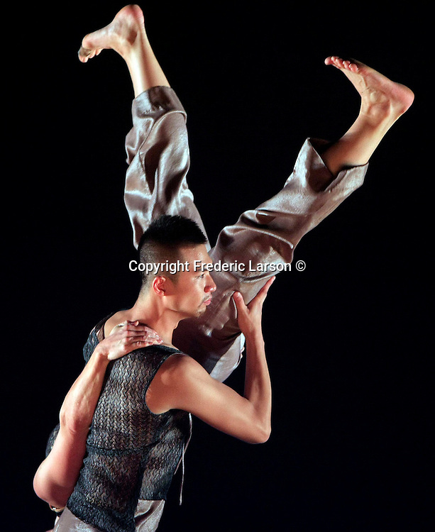 Margaret Jenkins Dance in collaboration with a Chinese dance company at the YBC Novelus Theater in San Francisco, California.