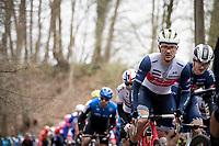 Edward Theuns (BEL/Trek-Segafredo)<br /> <br /> 72nd Kuurne-Brussel-Kuurne 2020 (1.Pro)<br /> Kuurne to Kuurne (BEL): 201km<br /> <br /> ©kramon
