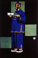 Man Serving Tea, 1911