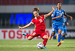 China vs Uzbekistan during the AFC U-19 Women's Championship China group A match at the Jiangning Sports Centre Stadium on 18 August 2015 in Nanjing, China. Photo by Aitor Alcalde / Power Sport Images