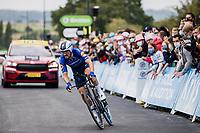 Julian Alaphilippe (FRA/Deceuninck-Quick Step)<br /> <br /> Stage 5 (ITT): Time Trial from Changé to Laval Espace Mayenne (27.2km)<br /> 108th Tour de France 2021 (2.UWT)<br /> <br /> ©kramon