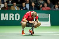Rotterdam, The Netherlands, Februari 8, 2016,  ABNAMROWTT, Thiemo de Bakker (NED)<br /> Photo: Tennisimages/Henk Koster