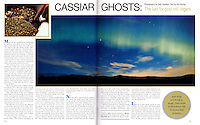 "BEAUTIFUL BRITISH COLUMBIA Magazine ""Cassiar Ghosts"" article - Photography by dale Sanders"