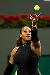 Serena Williams (USA) defeats Zarina Diyas (KAZ)