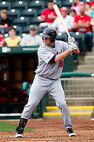 Dillon Baird (39) of the Arkansas Travelers at bat during a game against the Springfield Cardinals on May 10, 2011 at Hammons Field in Springfield, Missouri.  Photo By David Welker/Four Seam Images.