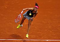 France, Paris, 25.05.2014. Tennis, Roland Garros, Shuai Zhang (CHN)<br /> Photo:Tennisimages/Henk Koster
