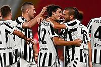 esultanza gol Filippo Ranocchia<br /> Monza 31/07/2021 Stadio Brianteo <br /> Football 2021/2022 preseason friendly match between Monza and Juventus <br /> Photo Image Sport / Insidefoto