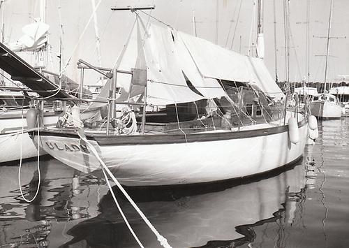The 43ft Robert Clark sloop Uladh