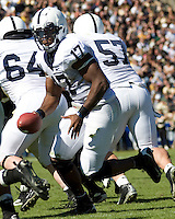 October 03, 2008: Penn State quarterback Daryll Clark (17). The Penn State Nittany Lions defeated the Purdue Boilermakers 20-06 on October 03, 2008 at Ross-Ade Stadium, West Lafayette, Indiana.