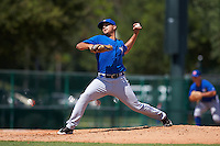 Toronto Blue Jays pitcher Juliandry Higuera (22) during an instructional league game against the Atlanta Braves on September 30, 2015 at the ESPN Wide World of Sports Complex in Orlando, Florida.  (Mike Janes/Four Seam Images)