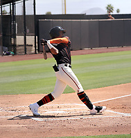 Anthony Rodriguez - San Francisco Giants 2021 extended spring training (Bill Mitchell)