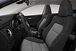 Front seat view of a 2018 Toyota Auris Hybrid Black Edition 5 Door Hatchback front seat car photos