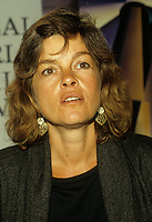 Montreal (QC) Canada- August 1988 File Photo -World Film Festival -<br />  Genevieve Bujold, actress