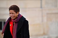 George Pau-Langevin - Visite officielle du Duc et la Duchesse de Cambridge reÁus par le PrÈsident de la RÈpublique FranÁois Hollande au palais de líElysÈe ‡ Paris, le vendredi 17 mars ‡ 16h30. # LE PRINCE WILLIAM ET KATE RECUS A L'ELYSEE PAR FRANCOIS HOLLANDE
