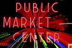 N.A., USA, WA, Seattle, Pike Place Market Neon Sign