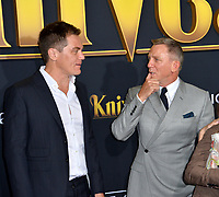 "LOS ANGELES, USA. November 15, 2019: Michael Shannon & Daniel Craig at the premiere of ""Knives Out"" at the Regency Village Theatre.<br /> Picture: Paul Smith/Featureflash"