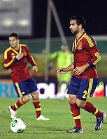 Spain's Montoya  during an International sub21 match. March 21, 2013.(ALTERPHOTOS/Alconada) /NortePhoto
