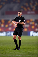 22nd December 2020; Brentford Community Stadium, London, England; English Football League Cup Football, Carabao Cup, Brentford FC versus Newcastle United; Referee Robert Jones