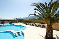 Nordzypern, Pool vom Hotel Deniz  Kizi westlich von Girne