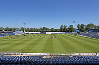 General view of the ground ahead of Glamorgan vs Essex Eagles, Vitality Blast T20 Cricket at the Sophia Gardens Cardiff on 13th June 2021