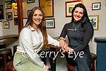 Enjoying the evening in Teach Beag on Saturday, l to r: Christine Leahy and Ann Marie Nipper
