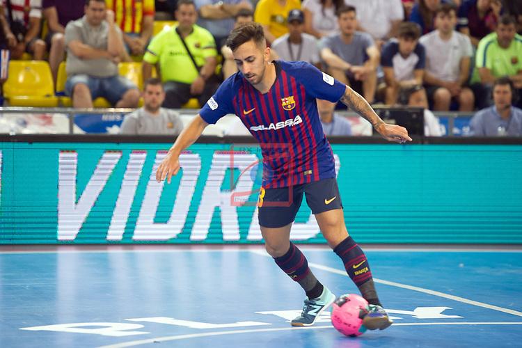 League LNFS 2018/2019.<br /> PlayOff Final. 1er. partido.<br /> FC Barcelona Lassa vs El Pozo Murcia: 7-2.<br /> Joselito.