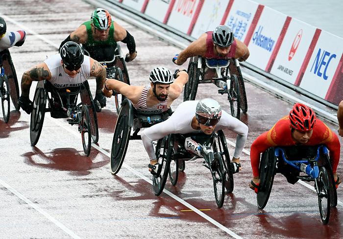 Brent Lakatos, Tokyo 2020 - Para Athletics // Para-athlétisme.<br /> Brent Lakatos competes in the men's marathon final // Brent Lakatos participe à la finale du marathon masculin. 05/09/2021.