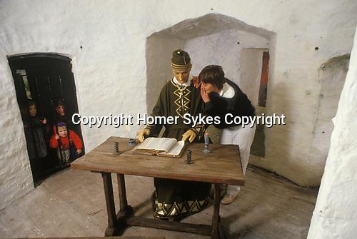 Hon Beatrice Plunkett,  Manorbier Castle Pembrokeshire  Wales 1990s