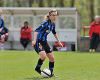 Club Brugge Dames B : Ellen Lagrange.foto DAVID CATRY / Nikonpro.be
