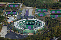 aerial photograph Crandon Tennis Center Key Biscayne Florida